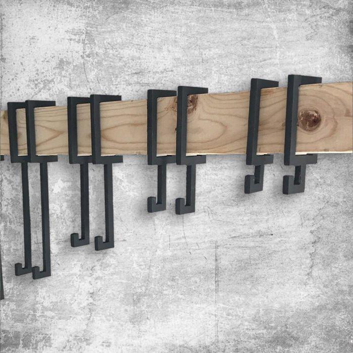 2x4 steel target hangers