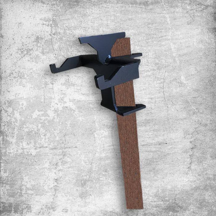 Angle Iron - Double Hook Hanger 1