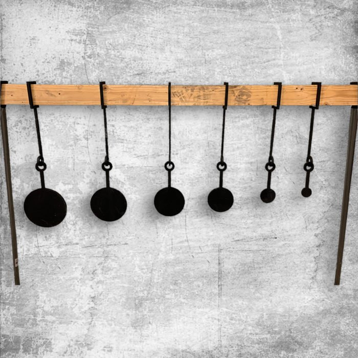 hanging know your limits steel target