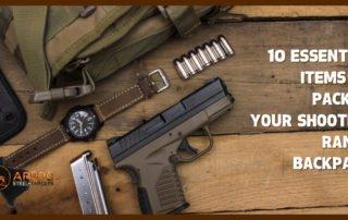 shooting range pack