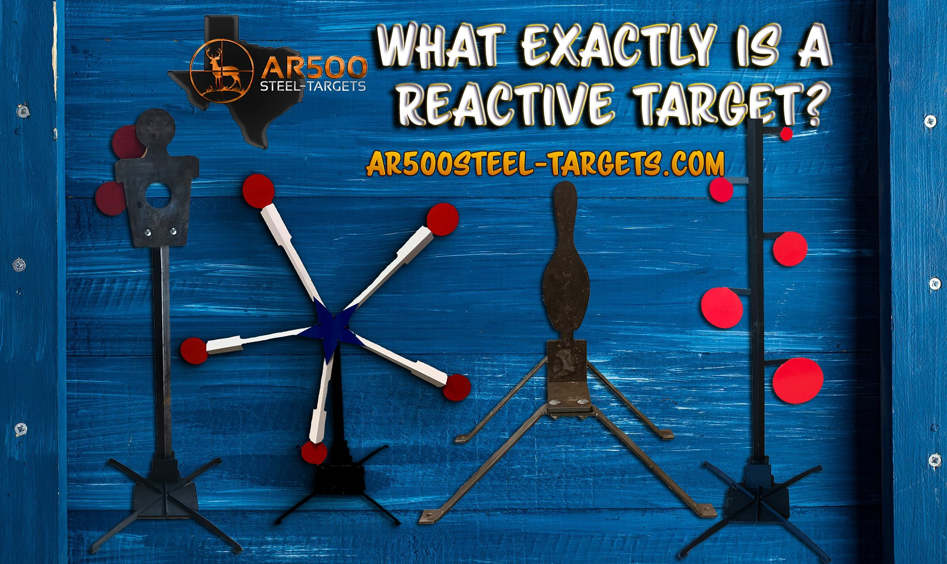 reactive steel targets