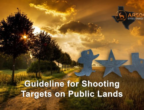 Guideline for Shooting Targets on Public Lands