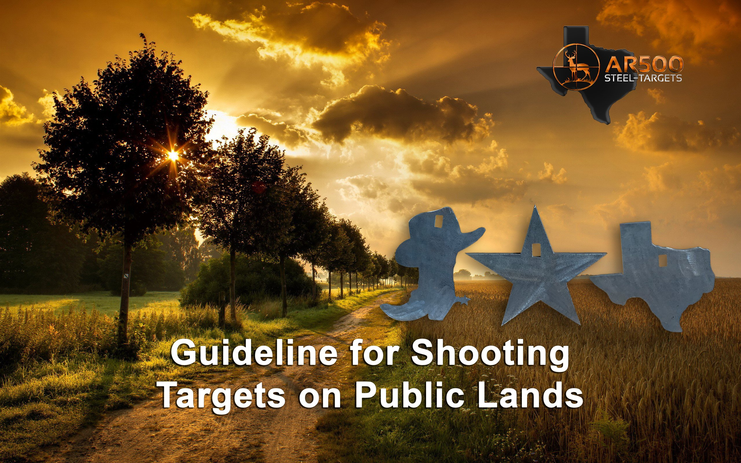 guidelines for shooting targets on public land