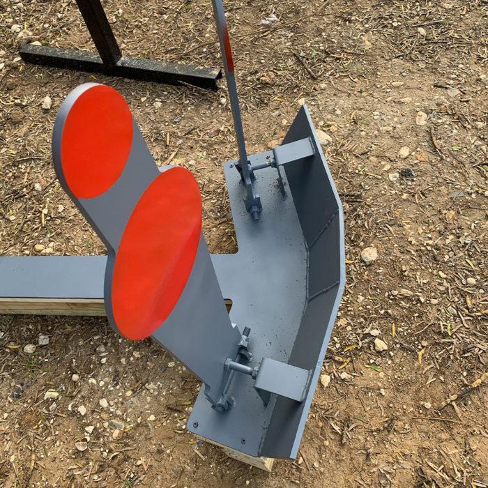 tie breaker popper target