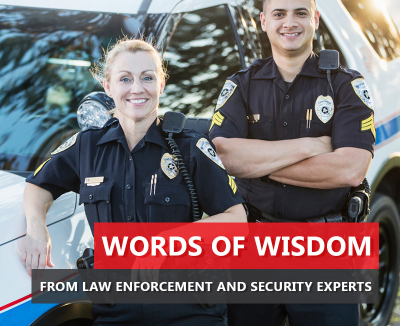 Firearm Words of Wisdom from Law Enforcement