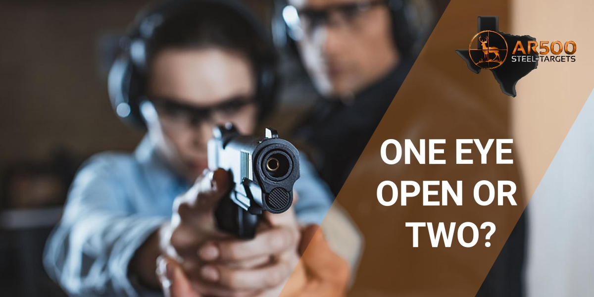 Shooting with One Eye Open or Two, Which is More Effective?