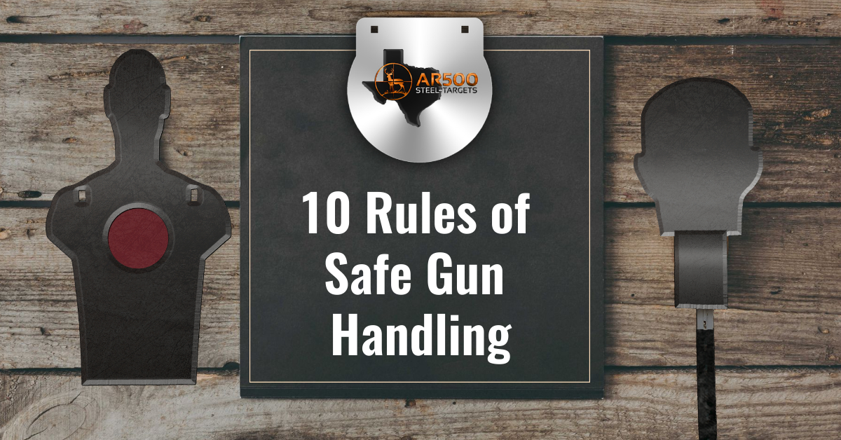 10 Rules of Safe Gun Handling