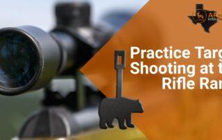 Practice Target Shooting at the Rifle Range 2
