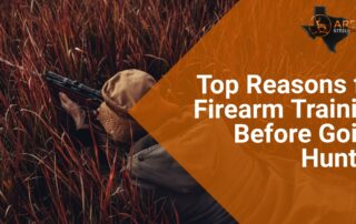 Top Reasons for Firearm Training Before Going Hunting 2